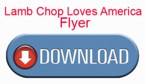Download Lamb Chop Loves America Flyer
